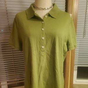 Collared Top with buttons